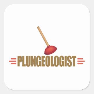 Funny Plumber Sticker
