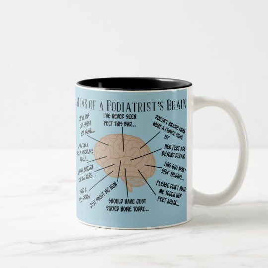Funny Podiatrist Thoughts Mugs