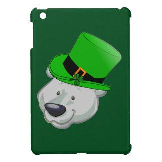 Funny Polar Bear iPad Case - St Patricks Day