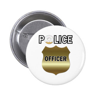 Funny Police Officer Gifts 6 Cm Round Badge