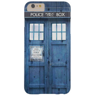 Funny Police phone Public Call Box Barely There iPhone 6 Plus Case