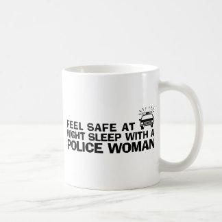 Funny Police Woman Coffee Mug