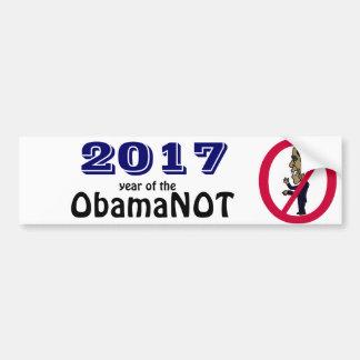 Funny Political Anti Obama Bumper Sticker