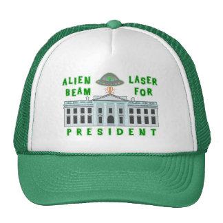 Funny Political Election Humor | Alien Laser Beam Cap