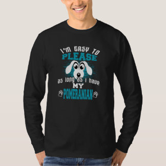 Funny Pomeranian Dog Owners T-Shirt