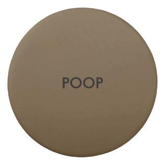 Funny Poop Eraser