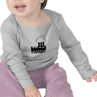 "Funny ""Poop Factory"" Infant Longsleeve Shirts"