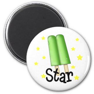 Funny Pop Star Refrigerator Magnet
