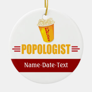 Funny Popcorn Christmas Ornament