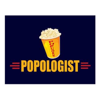 Funny Popcorn Postcard