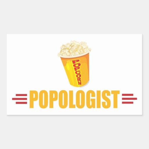 Funny Popcorn Stickers