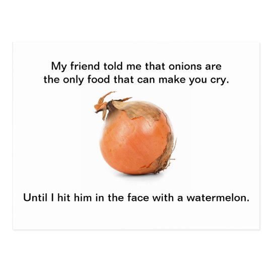 """Funny Postcard - """"My Friend Told Me That"""