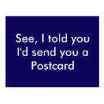 Funny Postcard Postcards