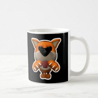 funny pouncing tiger coffee mug