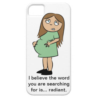 Funny Pregnancy iPhone 5 Case