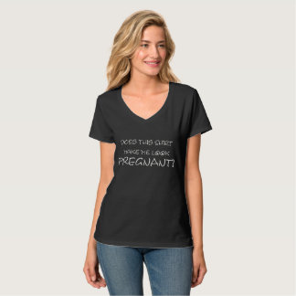 Funny Pregnant Announcement T-Shirt