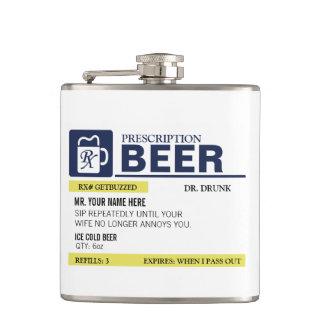 Funny Prescription Beer Flask