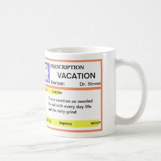 Funny Prescription Coffee Mugs