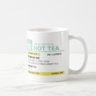 Funny Prescription Hot Tea Basic White Mug