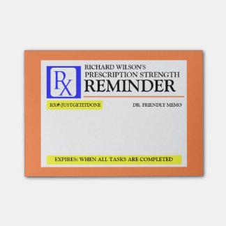 Funny Prescription Label Post-it® Notes