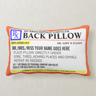 Funny Prescription Strength Cushions