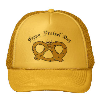 Funny Pretzel Trucker Hat