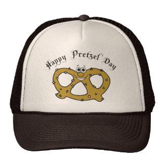 Funny Pretzel Mesh Hat