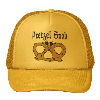 Funny Pretzel Mesh Hats