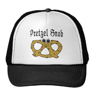 Funny Pretzel Snob Hats
