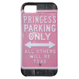 Funny Princess Parking Only sign iPhone 5 Cover