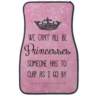 Funny Princess Quote Car Mat