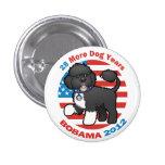Funny Pro Bo Obama 2012 3 Cm Round Badge