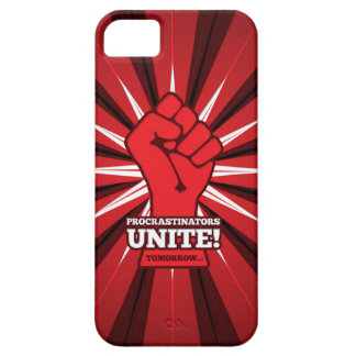 Funny: Procrastinators Unite! (Tomorrow) Barely There iPhone 5 Case