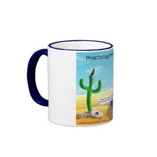 Funny Proctology Ringer Mug