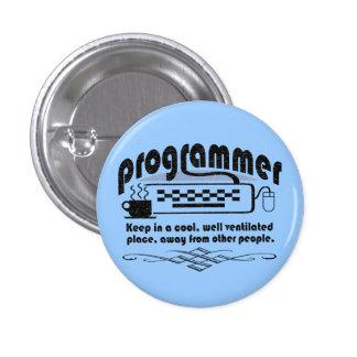 Funny Programmer 3 Cm Round Badge