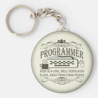 Funny Programmer Key Ring