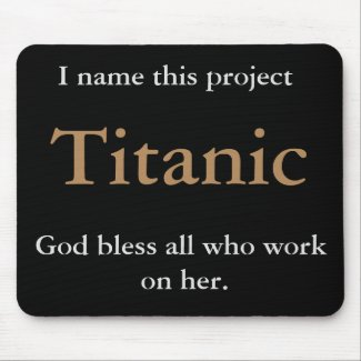 Funny Project Joke Gift Titanic Cruel Name