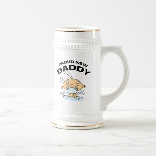 Funny Proud New Daddy Mug