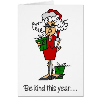 Funny Prozac Christmas Card