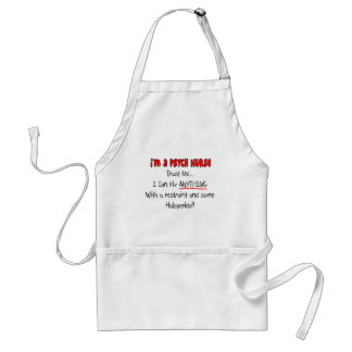 Funny Psych Nurse Gifts Standard Apron