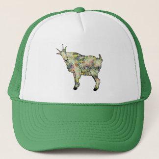 Funny Psychedelic Art Goat Animal Design Trucker Hat