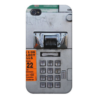 Funny Public Pay Phone Booth 7/11 iPhone 4 Covers