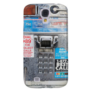 Funny Public Pay Phone Booth Galaxy S4 Case