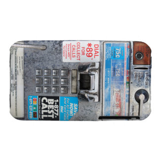 Funny Public Pay Phone Booth iPhone 3 Cases