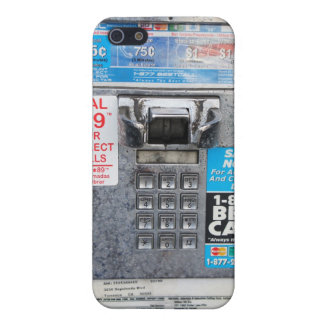 Funny Public Pay Phone Booth iPhone 5 Cover