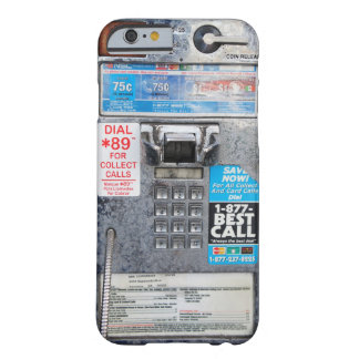Funny Public Payphone Booth Barely There iPhone 6 Case