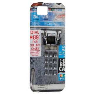 Funny Public Payphone Booth iPhone 5 Cover