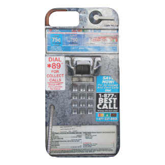 Funny Public Payphone Booth iPhone 7 Case