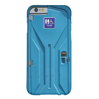 Funny Public Portable Toilet Barely There iPhone 6 Case