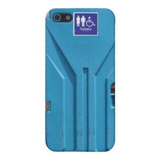 Funny Public Portable Toilet iPhone 5/5S Case